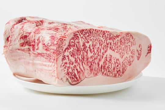 松阪牛ロース・サーロイン ブロック(約1kg)の写真